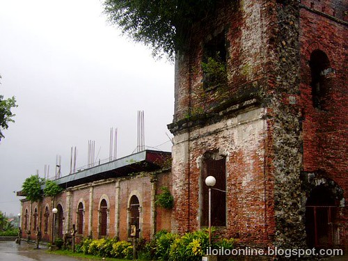 Janiuay church Ruins