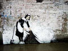 Banksy photo by Simon Crubellier