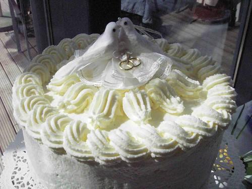 wedding cake first cake
