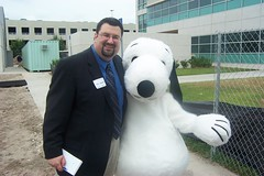 Dave and Snoopy