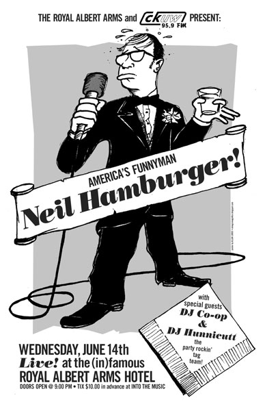 Neil Hamburger poster