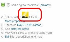 只有Nikon的有小icon?