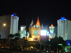 Excalibur@Night