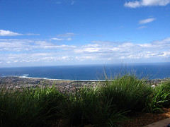 View of Wollongong from Mt Keira