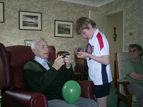Nathan and Grandad