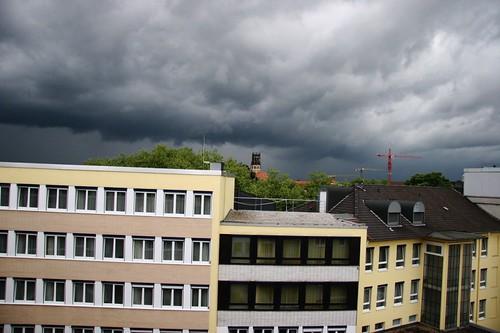 La tempête approche
