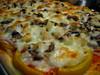 Fresh Mushroom Pizza