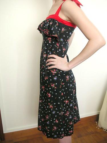 Ruffle Dress Side 1