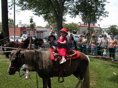生平第一次骑马