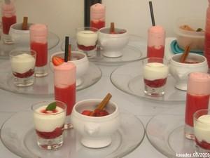Trilogie autour de la fraise du Périgord