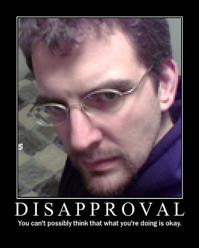 MadMup Disapproval Poster