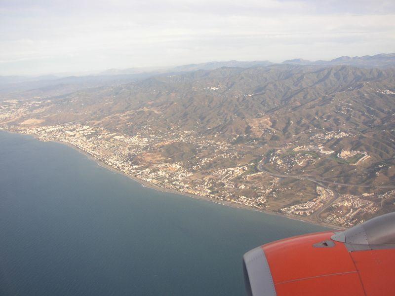 Küste bei Malaga