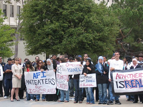 Picture of Islamic Fanaticism's supporters at UC Irvine