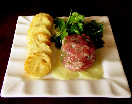 Tuna Tartare Plated