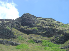 Hawaii East Coast mountain
