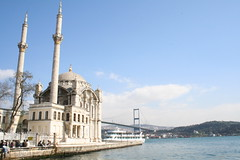 ortaköy and the first bridge