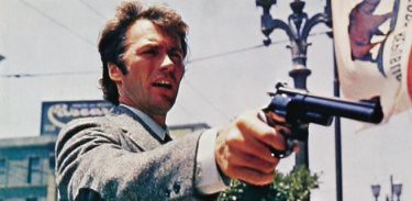 Dirty Harry is Clint Eastwood