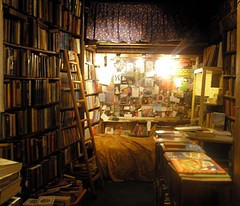 book store photo by arranging constellations