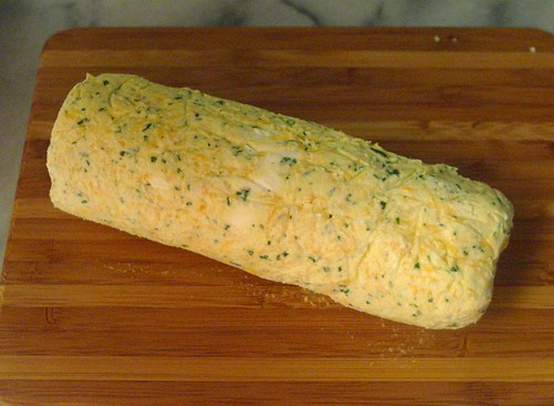 Carrot and Cheddar Cheese Roll
