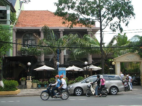 Cafe in Saigon