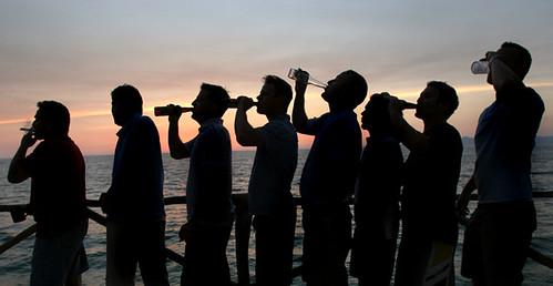 sunset dudes