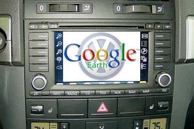 Google Earth Navi Prototyp