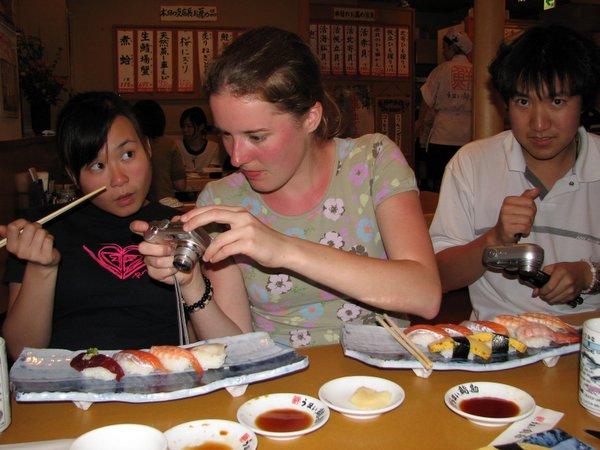 Sendai: sushi