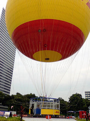 the dhl balloon