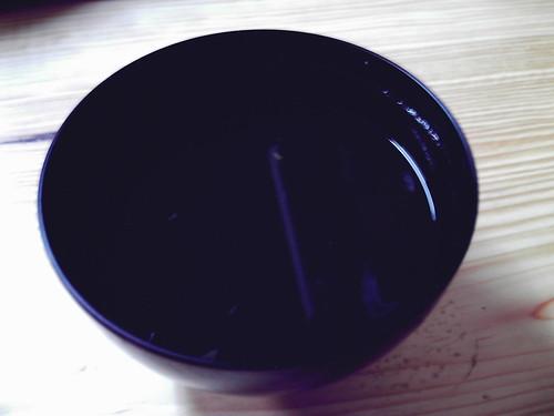squid-ink soup / イカ墨汁(マダ汁)