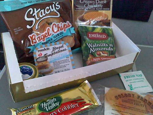 United explus First Class Snack Box