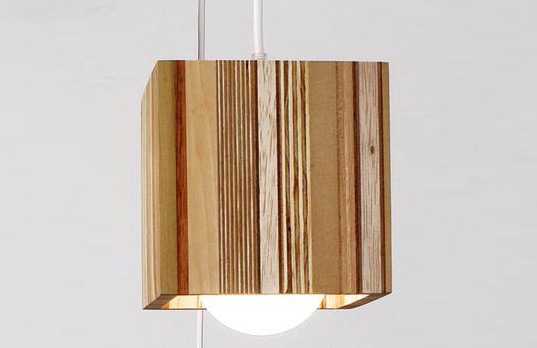 Scrapile Lamp, Scrapile, Recycled Design, Green Design, Sustainable Design