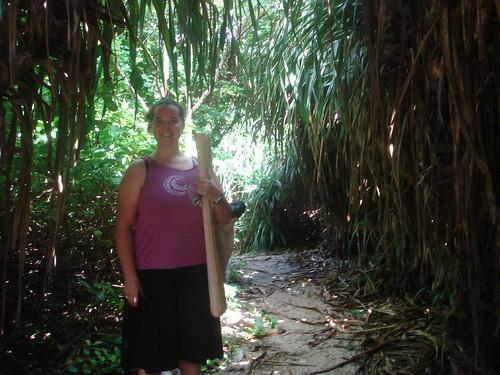 jungle path to snorkle cove