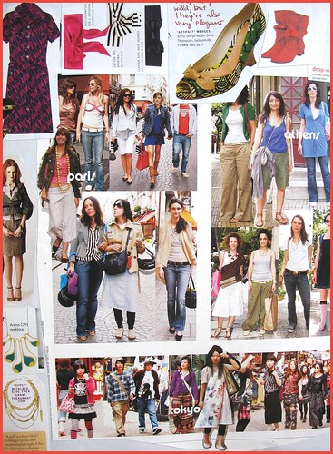 fashion scrapbook page 7