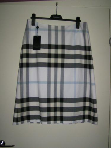 Kjol från Burberry.
