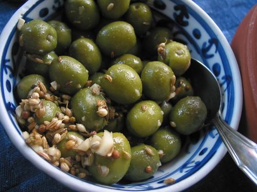Olive piccanti di Un Tocco di Zenzero