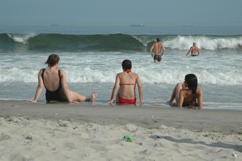 Trio on Beach