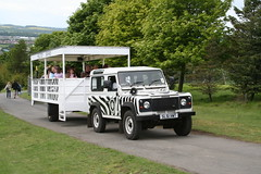 Jeep safari at Edinburgh Zoo