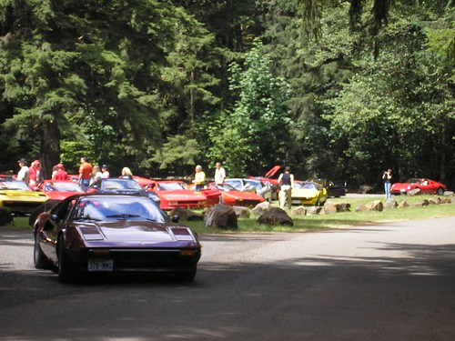 Twenty-Two Ferraris at Rainbow Falls