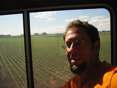 steev on Coast Starlight train
