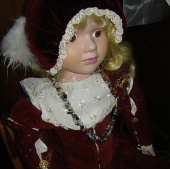 16th century girl's <br />dress
