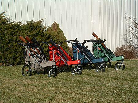 Juniorshooters 187 Rugged Gear Gun Carts