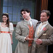 The Importance of Being Earnest, directed by Shawn Douglass: Kelsey Brennan, Paul Hurley, and Greg Matthew Anderson. Photo by Johnny Knight