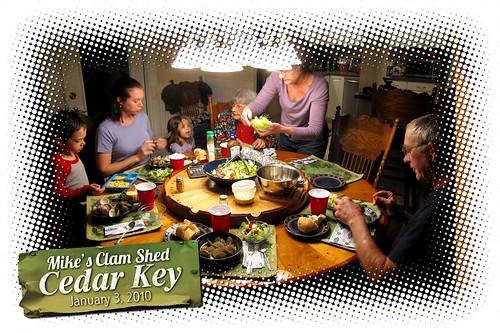 Mike's Clam Shed Cedar Key!