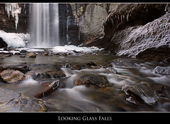 Looking Glass Falls - December, 2010 photo by Nate Montgomery
