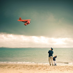 People / Beach / Sky / Plane photo by ►CubaGallery