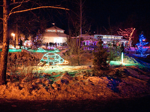 Zoo Lights at Calgary Zoo