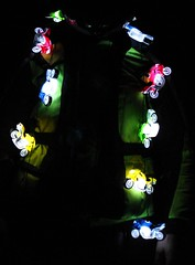 motorcycle party lights
