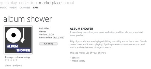 Album Shower
