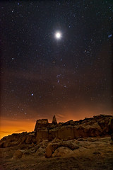 Martian Lunar Eclipse Landscape photo by Fort Photo