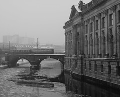 Berlin - S-Bahn entering the Bode-museum photo by Hindrik S